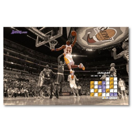 Αφίσα (nba, μπάσκετ, Kobe, Bryant, Los Angeles Lakers, spalding)